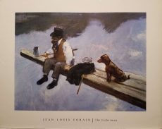 The Fisherman by Jean Luis Forain