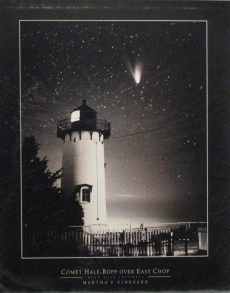 Comet Hale-Bopp Over East Chop by Lovewell
