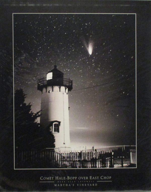Comet Hale-Bopp Over East Chop by Lovewell