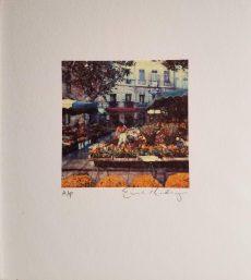 Flower Market by Ernesto Rodriguez