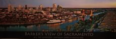 Barker's View of Sacramento by Pat J Livingston