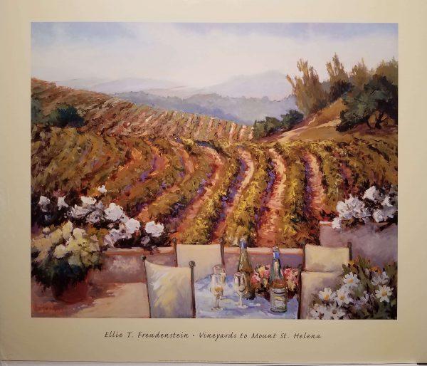 Vineyards to Mt. St. Helens by Ellie Freudenstein