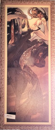 Sorrow by Alphonse Mucha