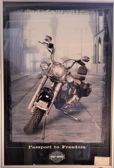 Passport to Freedom Harley Davidson Posters