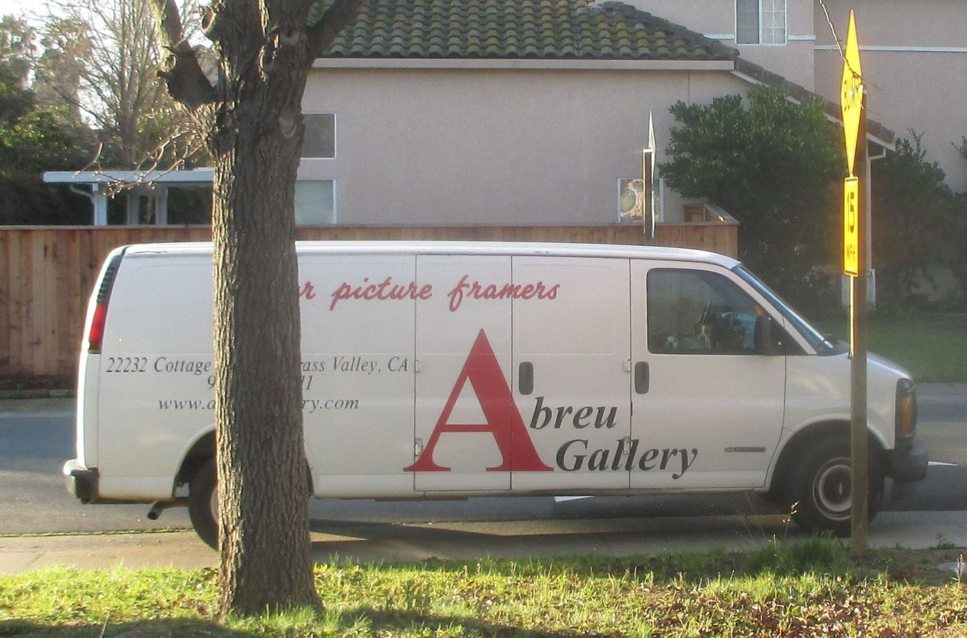 The Abreu Gallery Van